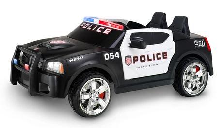 Kid Trax 12v Dodge Pursuit Police Car Walmart Canada