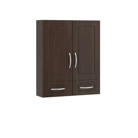 Fabritec 24 X30 Wall Cabinet In Brown