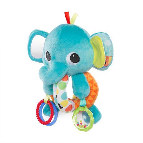 Bright Starts Explore Cuddle Elephant Baby Toys Walmart Canada