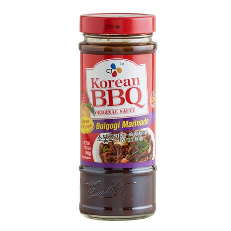 CJ Korean BBQ Bulgogi Marinade Original Sauce - image 1 of 2