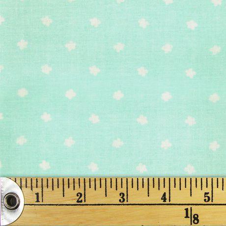 Tissu pré-coupé Fat Quarter de Fabric Creations à motif de taches de peinture bleu - image 1 de 1