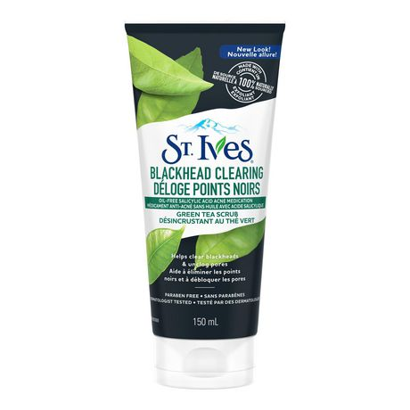 St. Ives  Naturally Clear Green Tea Facial Scrub 150ml - image 2 of 8