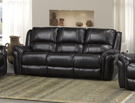 Brassex Inc Hilton Dual Recliner Sofa, Chocolate - image 1 of 2
