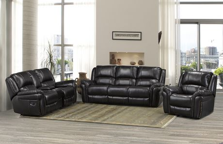 Brassex Inc Hilton Dual Recliner Sofa, Chocolate - image 2 of 2