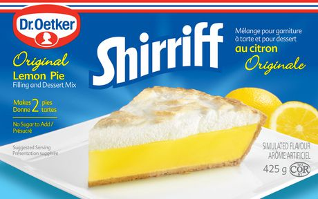 Dr. Oetker Shirriff Lemon Pie & Dessert Mix - image 1 of 2