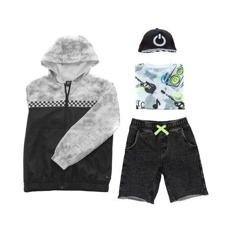 Boys Mini Pop Kids Checker Nylon Jacket - image 7 of 7