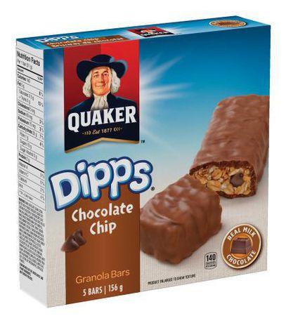 Quaker Dipps Chocolate Chip Granola Bars | Walmart Canada