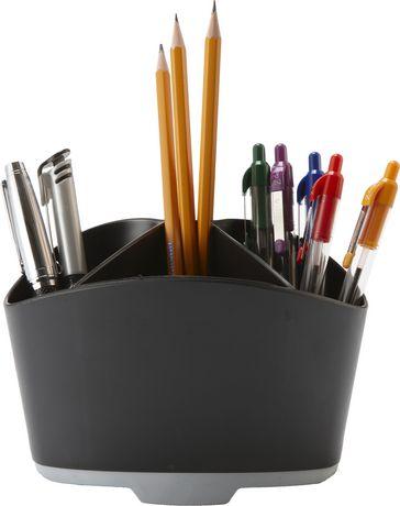 Storex Rubber Grip Mini Desk Organizer, 6-Pack - image 2 of 3