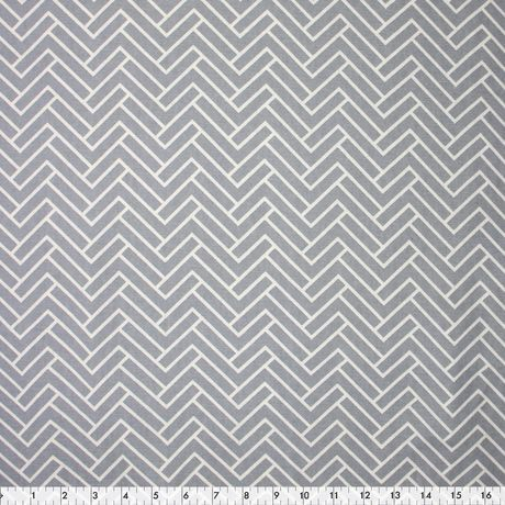 Tissu en toile fabric creations en gris chevron walmart canada - Achat de tissus en ligne canada ...