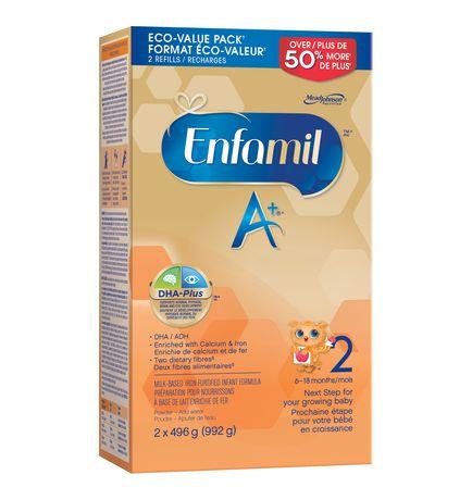 Box of Enfamil A+ baby formula - best Enfamil baby formula