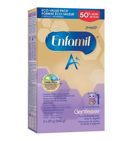 Enfamil A+ Gentlease® Baby Formula, Powder Refill - image 2 of 4