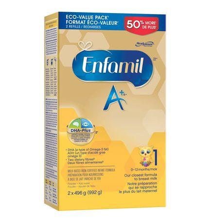 Enfamil A+® Baby Formula, Powder Refill - image 2 of 4