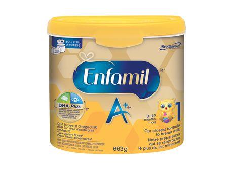 Préparation pour nourrissons Enfamil A+®, en poudre - image 2 de 4