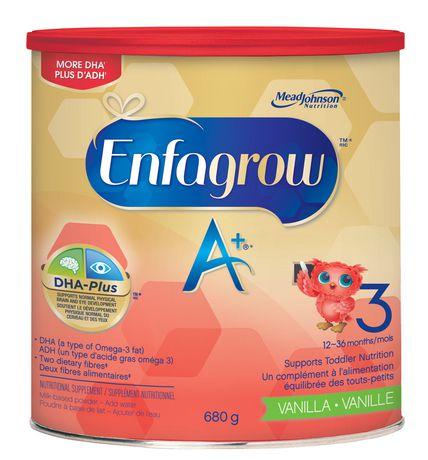 Enfagrow A+® Toddler Nutritional Drink, Vanilla Flavour Powder - image 2 of 4