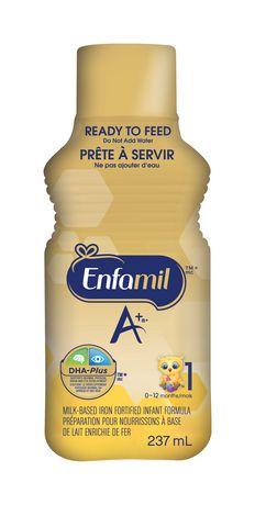 Enfamil A+® Baby Formula, Ready to Feed Bottles   Walmart ...