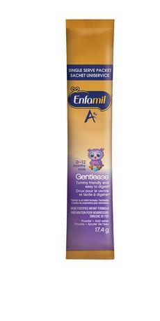 Enfamil A+ Gentlease® Baby Formula, Single Serve Powder - image 3 of 5