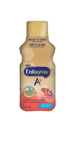 Enfagrow A+® Toddler Nutritional Drink, Milk Flavour Ready to Drink Bottles - image 3 of 5
