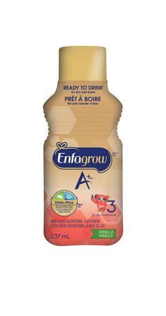 Enfagrow A+® Toddler Nutritional Drink, Vanilla Flavour Ready to Drink Bottles - image 3 of 5
