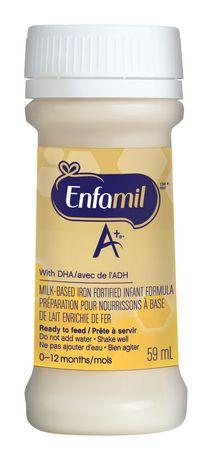 Enfamil A+® Baby Formula Ready to Feed Nursette® Bottles - image 3 of 5