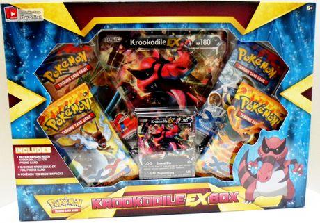 Pokemon Krookodile Ex Box Trading Card Game Walmart Canada