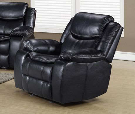 Topline Home Furnishings Glider Recliner Leather Chair - image 1 of 2