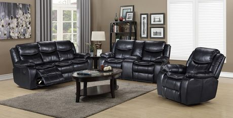 Topline Home Furnishings Glider Recliner Leather Chair - image 2 of 2