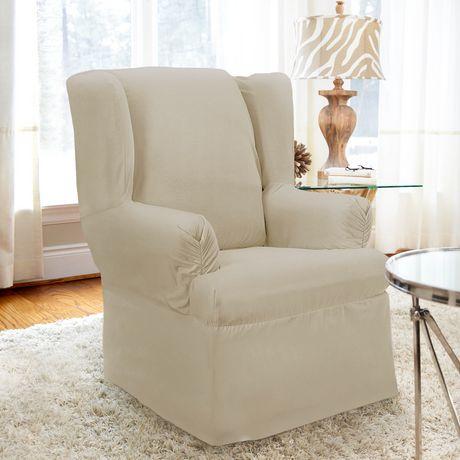 Housse enveloppante non extensible pour fauteuil for Housse panier epicerie