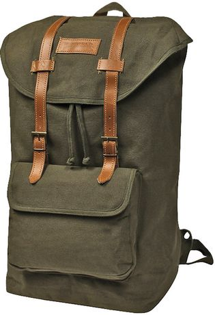 World Famous Sales Of Canada Inc World Famous Nessmuck Rucksack - Olive Olive Green 0