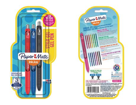 Paper Mate® InkJoy® Assorted Fine Point Gel Pens