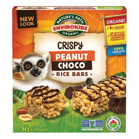 Nature's Path EnviroKidz - Barres de céréales Lemur aux beurres d'arachides avec coulis de chocolat - image 1 de 1