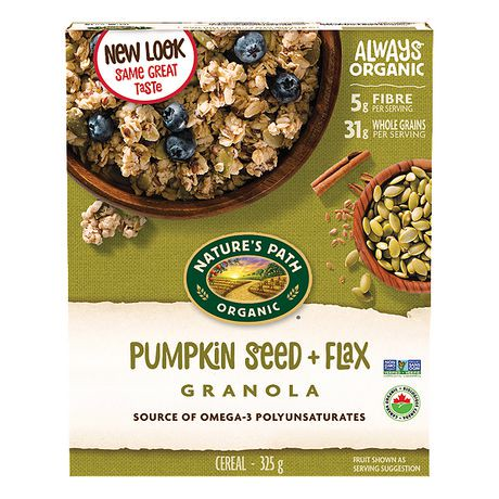 Nature S Path Pumpkin Flax Plus Granola