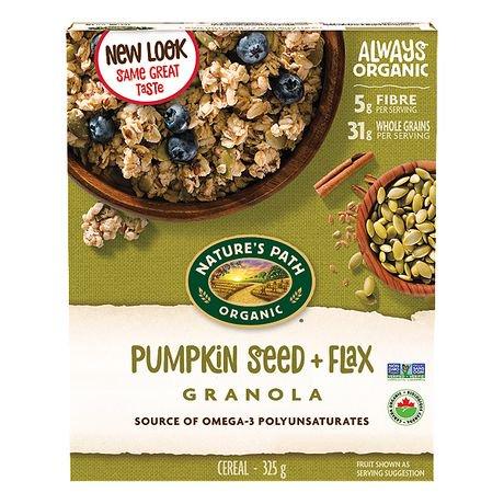 Nature S Path Organic Pumpkin Seed Flax Granola