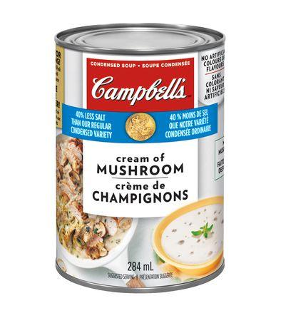 Campbell's Low Sodium Cream of Mushroom Soup - image 1 of 2