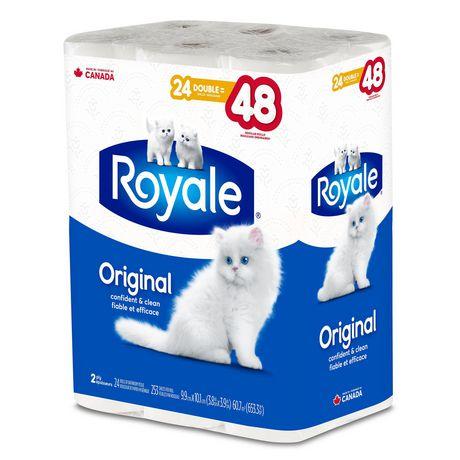 Papier hygiénique Original de ROYALE(MD) à 2 épaisseurs - image 3 de 3