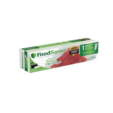 "FoodSaver 8""x 20' Heat-Seal Roll - image 1 of 4"