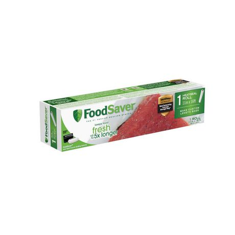 "FoodSaver 11"" x 16' Heat-Seal Roll - image 1 of 4"