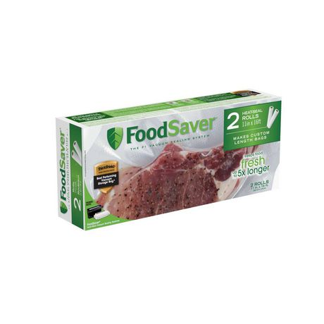 "FoodSaver® 11"" x 16' Heat-Seal Rolls, 2-Pack - image 1 of 6"