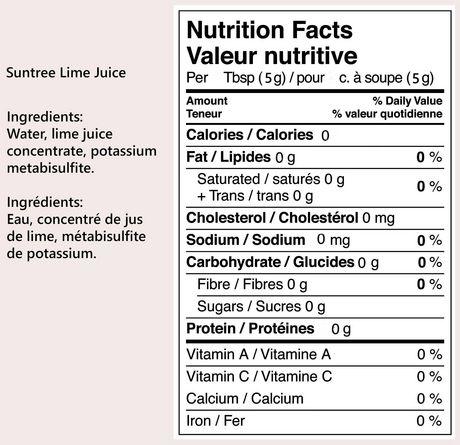 Suntree Lime Juice - image 2 of 3