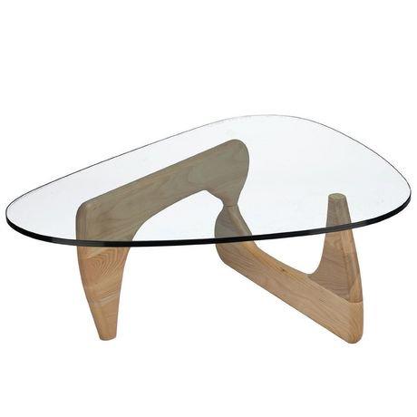 Nicer furniture isamu noguchi natural base coffee table - Isamu noguchi table basse ...