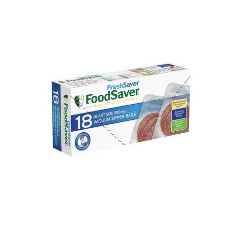 Foodsaver Freshsaver Quart Vacuum Zipper Bags Walmart Canada