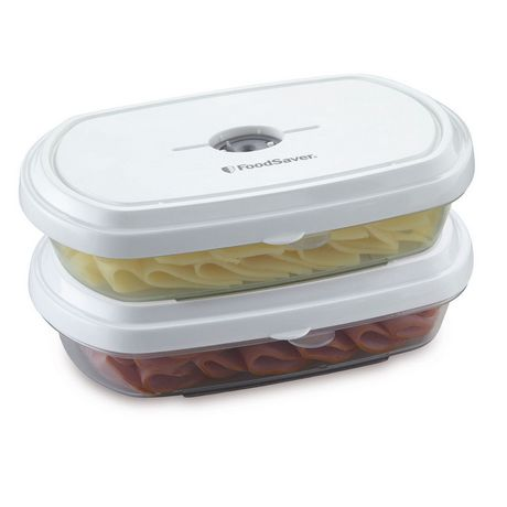 FoodSaver Deli Containers, ½ Qt 2 Pack - image 1 of 1