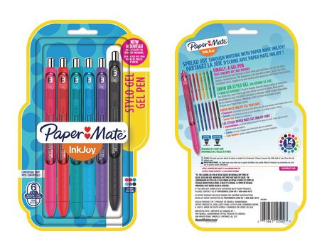 Paper Mate® InkJoy® Assorted Medium Point Gel Pens