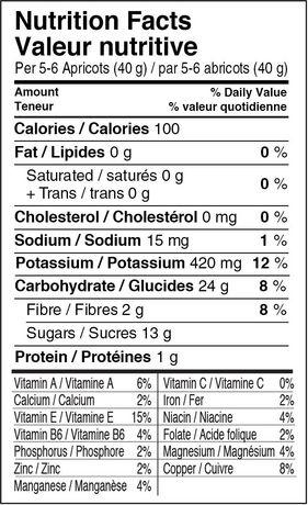 Abricots secs Ultimate de Mariani de haute qualité - image 2 de 2