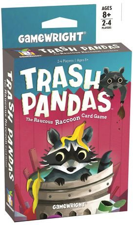 Trash Pandas: The Raucous Racoon Card Game (English Only) - image 1 of 1