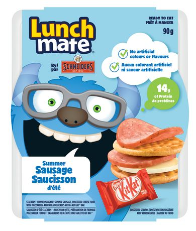 Schnieders Lunch Mate Summer Sausage Kit - image 1 of 1