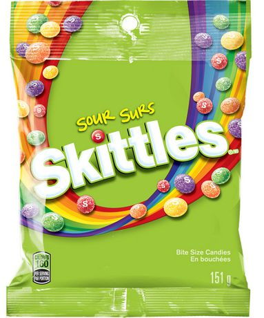 Skittles Sour Candies - image 1 of 3