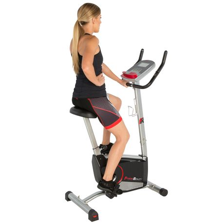 Fitness Reality 210 Upright Exercise Bike with 21 Computer Workout Programs - image 2 of 9