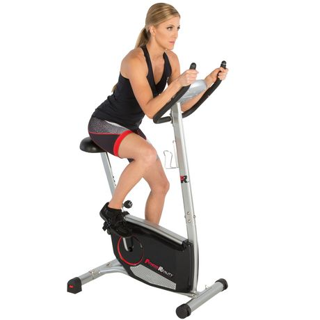 Fitness Reality 210 Upright Exercise Bike with 21 Computer Workout Programs - image 3 of 9