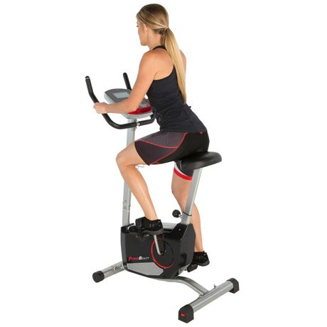 Fitness Reality 210 Upright Exercise Bike with 21 Computer Workout Programs - image 4 of 9