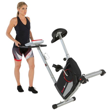 Fitness Reality 210 Upright Exercise Bike with 21 Computer Workout Programs - image 5 of 9